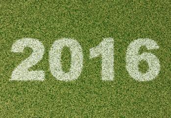 2016 grass font