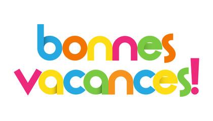 Icône BONNES VACANCES