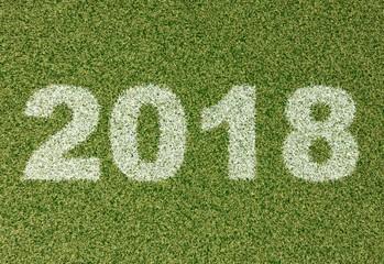 2018 grass font