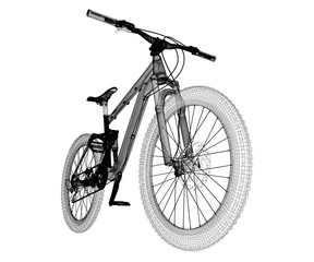 Mountain Bicycle sport