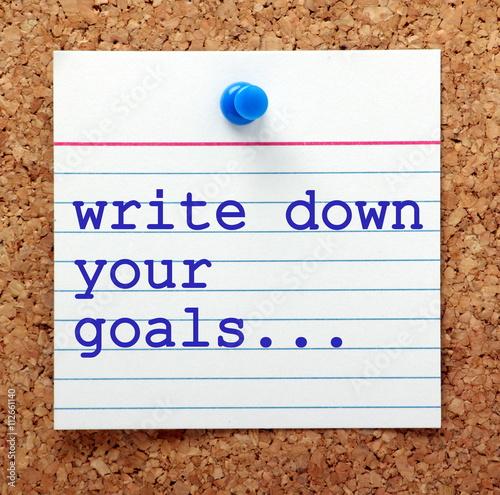 write down