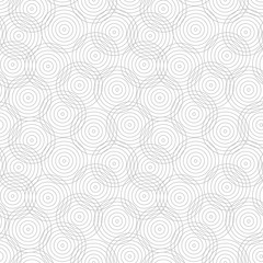 Circles geometric pattern - seamless.