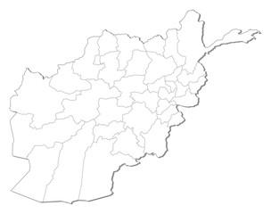 Map - Afghanistan