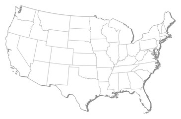 Map - United States