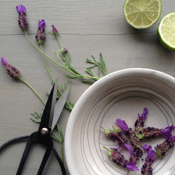 lavender in a bowl