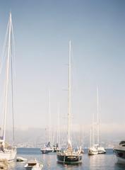 Boats in Italian harbour