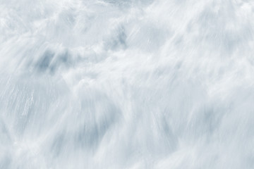 Whitewater Abstract. An abstract, long exposure of whitewater resulting from breaking ocean waves. Wall mural