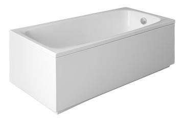 Bath on a white background.