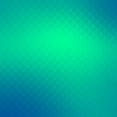 Abstract turquoise gradient art geometric background with soft color tone.