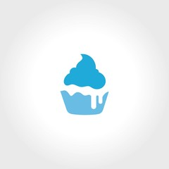 ice cream cup logo