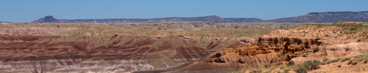 Little Painted Desert on Hopi Tribal Land in northern Arizona