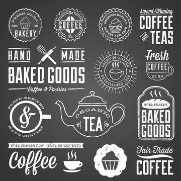 Chalkboard Cafe and Bakery Designs