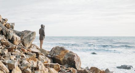 On stone coast