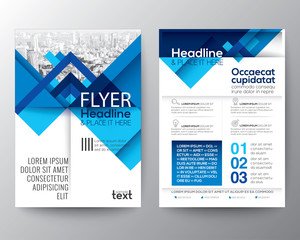 Abstract geometric background for Poster Brochure Flyer design Layout