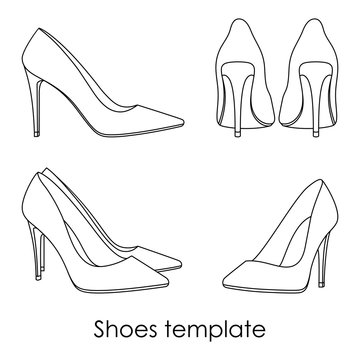 Shoes template