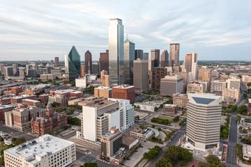 Dallas downtown skyline