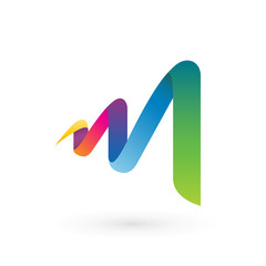 Abstract Letter M Logo