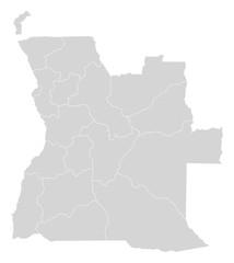 Map - Angola