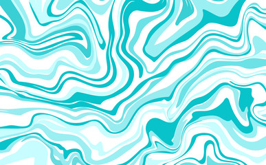 Vector ink marble style texture. Hand drawn marbling effect.