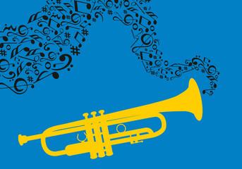 Instrument Couleur 4 - Trompette