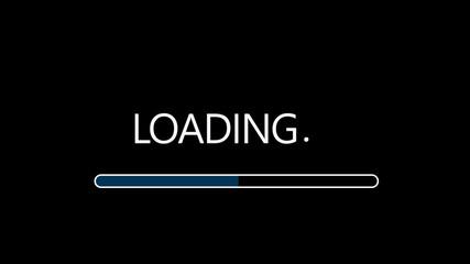 Loading sign background image