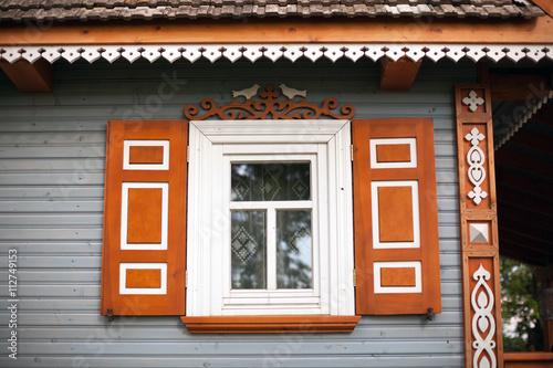 Traditional wooden house poland zdj stockowych i obraz w royalty free w obraz - Traditional polish houses wood mastership ...