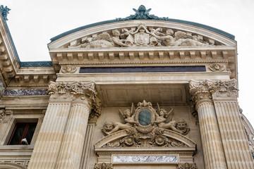 Opera National de Paris (Garnier Palace). Detail. Paris, France.