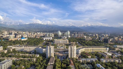 Almaty - Aerial view at The Republic Square
