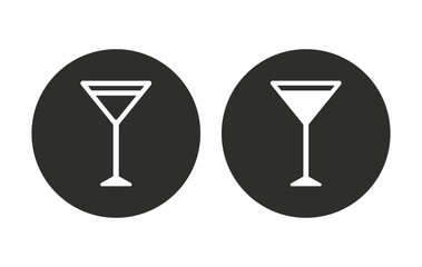 Cocktail - vector icon
