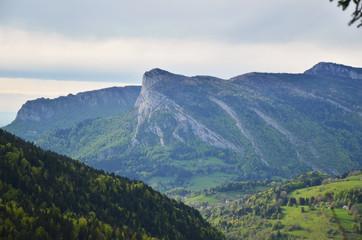 Vu sur la Roche Veyrand (Chartreuse / Savoie)