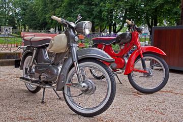 alte Kleinkrafträder