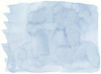 flat plain watercolor simple blue background