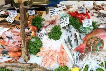 Sea food in London