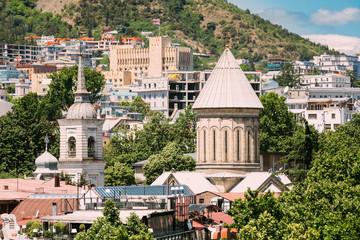 Fototapeta Tbilisi Sioni Cathedral, Georgia. Cathedral of Saint Mary of Zio obraz