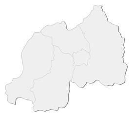 Map - Rwanda