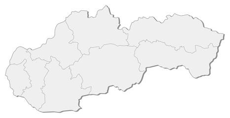 Map - Slovakia