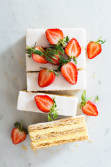 Mille Feuille with Strawberry