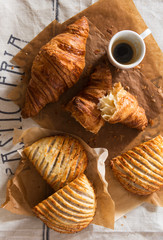 Sweet Pastry with Coffee