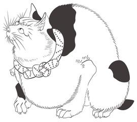 歌川国芳 鼠よけの猫 イメージイラスト
