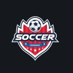 Soccer Club logo,Football logo,vector logo template