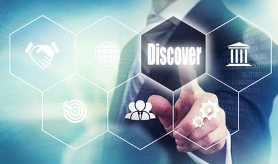 Business Discover Concept