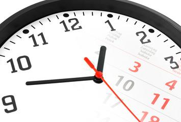 Uhr mit Kalender