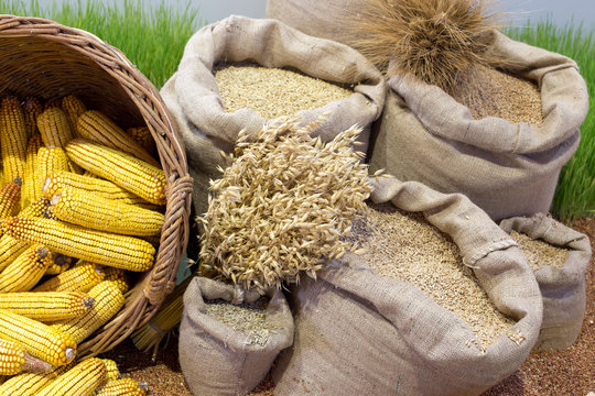 Agricultural products assorted