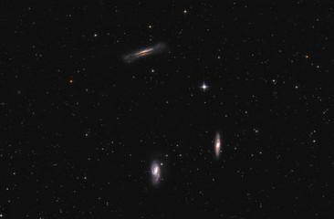 Galaxies in space - Leo Triplet