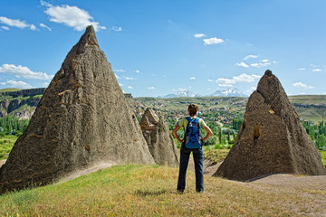 Best Turkey hike. Cappadocia, Anatolia, Turkey.