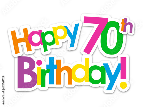 happy 70th birthday card stock image and royalty free vector files