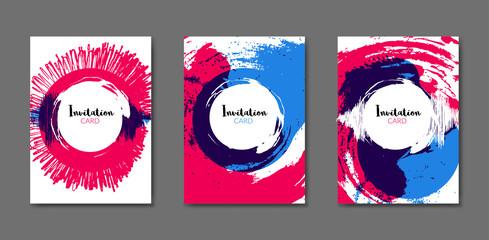 Art flyer brochure design template. Book cover mockup. Artistic flyer layout. Colorful cover design