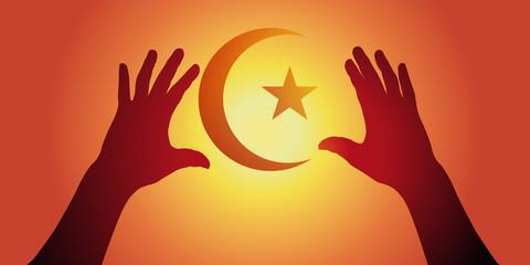 Religion - Musulman - adoration