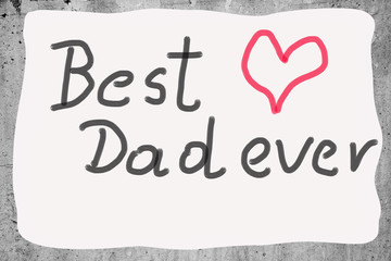 card on the occasion of Father's Day