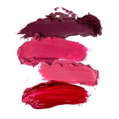 close up of lipstick stroke